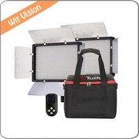 PT 680B 2 Light Kit 3200K 5600K LED Portable Light For Outdoor Movie Video Film Shooting