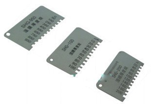 Wet Film Thickness Comb 0~100um/200um/700um/950um Free shipping wholesale retail and drop shipping cm 8000 hexagon wet film comb