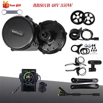 Bafang 8Fun BBS01B 48V 350W Mid Drive Bike Motor Electric Bike Conversion Kit Bafang 350W BBS01 Central Engine 44T 46T 48T 52T - DISCOUNT ITEM  9% OFF Sports & Entertainment