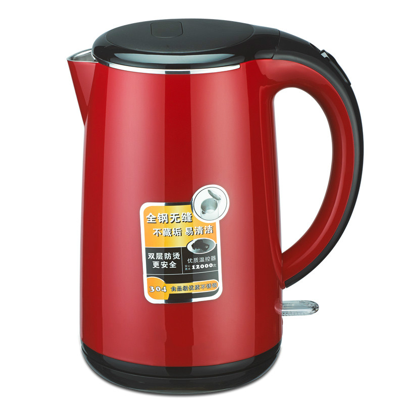 все цены на Electric kettle Household boiling water quick pot with a large capacity of 304 stainless steel electric онлайн