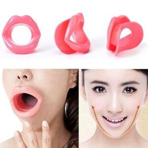 Силиконовая резина, для лица, для похудения, для полости рта, мышц, массажер, тренажер, тренажер для губ, против морщин и старения, массажер для подбородка