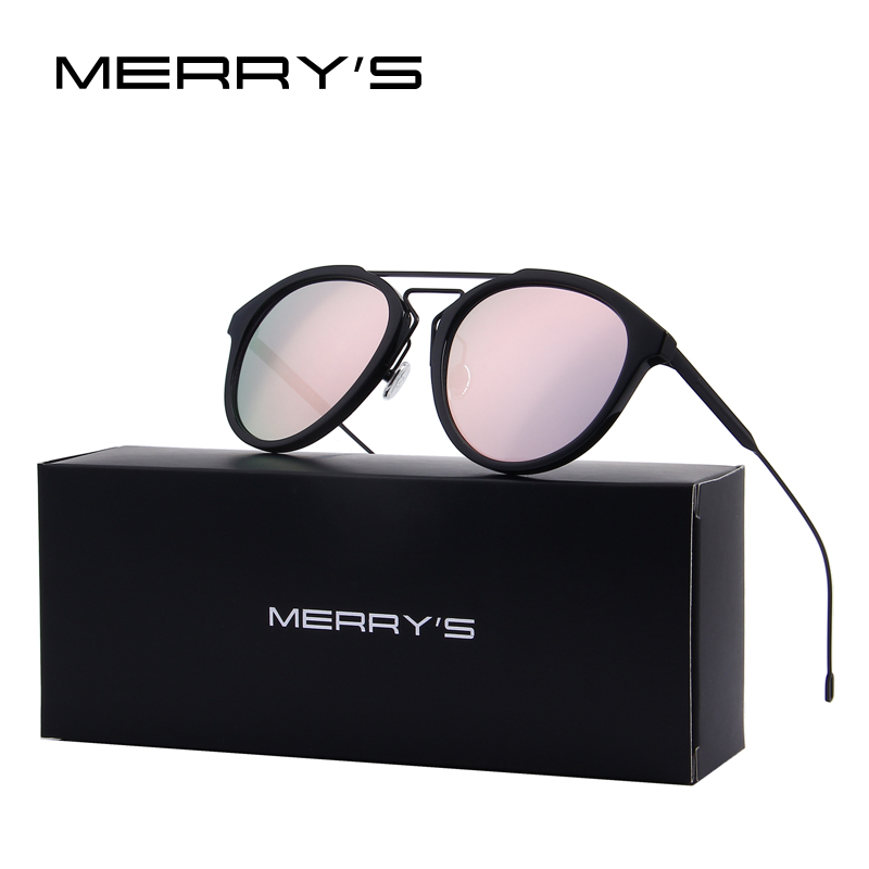 MERRY S Retro Women Sunglasses Vintage Shades Men Sun Glasses UV400 Eyewear Oculos S 8088