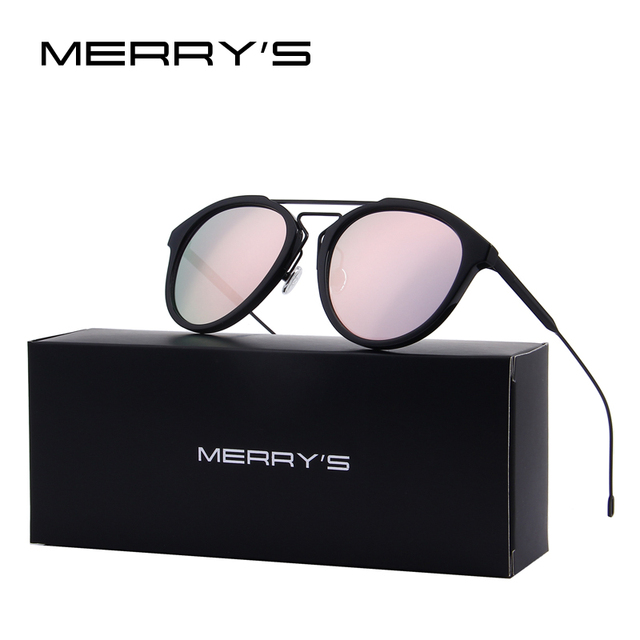 MERRY S Retro Women Sunglasses Vintage Shades Men Sun Glasses UV400 Eyewear  Oculos S 8088 8580056988