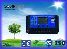 Solar Controller 20A 12V/24V for Solar panel solar module solar cell DIY solar kits of boat yacht RV motorhome solar panel