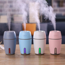 air humidifier 300ml home Office desk mini usb 7 Color Lights car