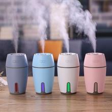 air humidifier 300ml home Office desk mini usb 7 Color Lights car