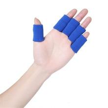 10Pcs Basketball Finger Protector Basketball Finger Support half finger gloves basketball equipment