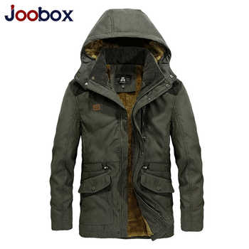 Brand  Army Military Parka men Winter Warm Thick Mens Down Jackets and Coats black Wool Liner Hooded Collar Winter Jacket Men - DISCOUNT ITEM  47% OFF All Category