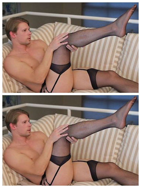 2017 Men Socks Multi - Color Sling Stocking Garter Belt Men 's Socks Sexy Transparent Lace Garter