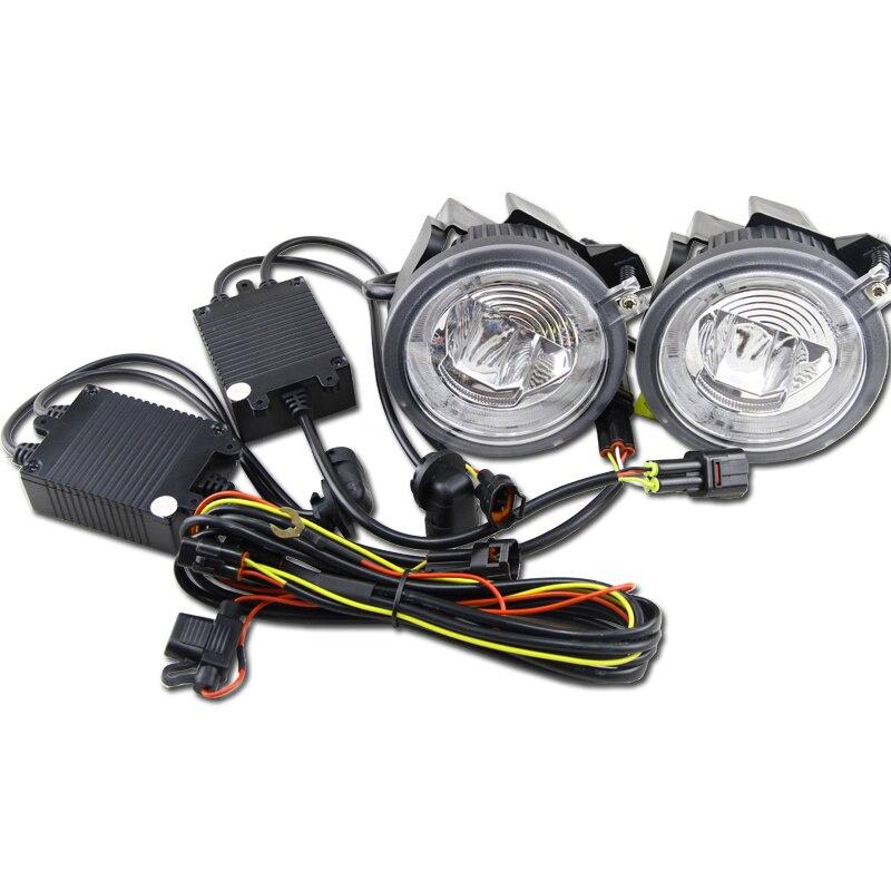 Fits 01-03 Dodge Durango /& 01-04 Dakota Left or Right Side Fog Light Assembly