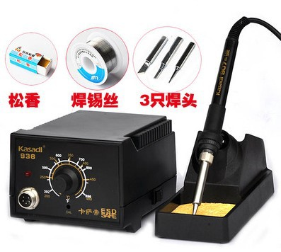 936 Soldering Station Tool Kit 220V 60W Soldering Iron Handle Solder Rework Station Fast Heating Adjustable Freeshipping 936 soldering station 220v 60 65w electric soldering iron for solder adjustable machine make seals tin wire solder tip