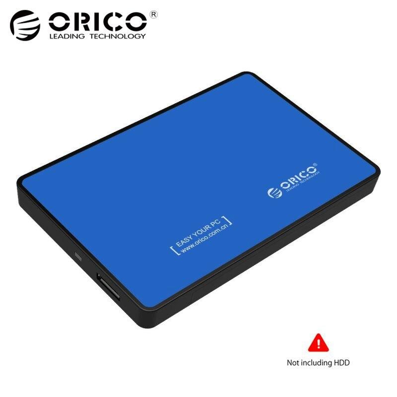 ORICO 2588US3 SATA HDD SSD USB3.0 externa de disco duro caja caso Caja 5 GBPS para 2,5 pulgadas Windows PC portátil azul