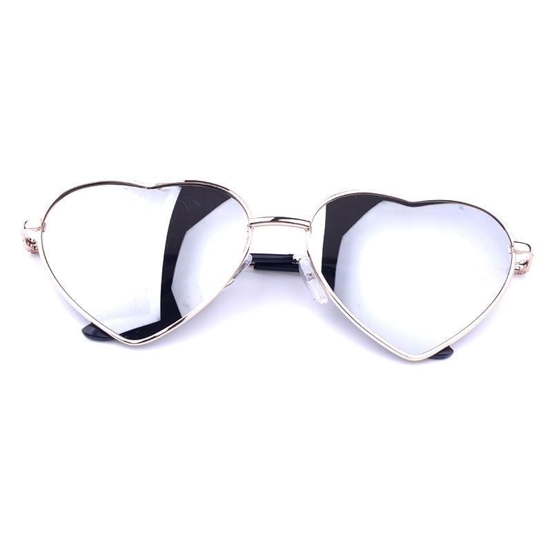 Unique Design Women Sunglasses Metal Frame Mirror Lens ...