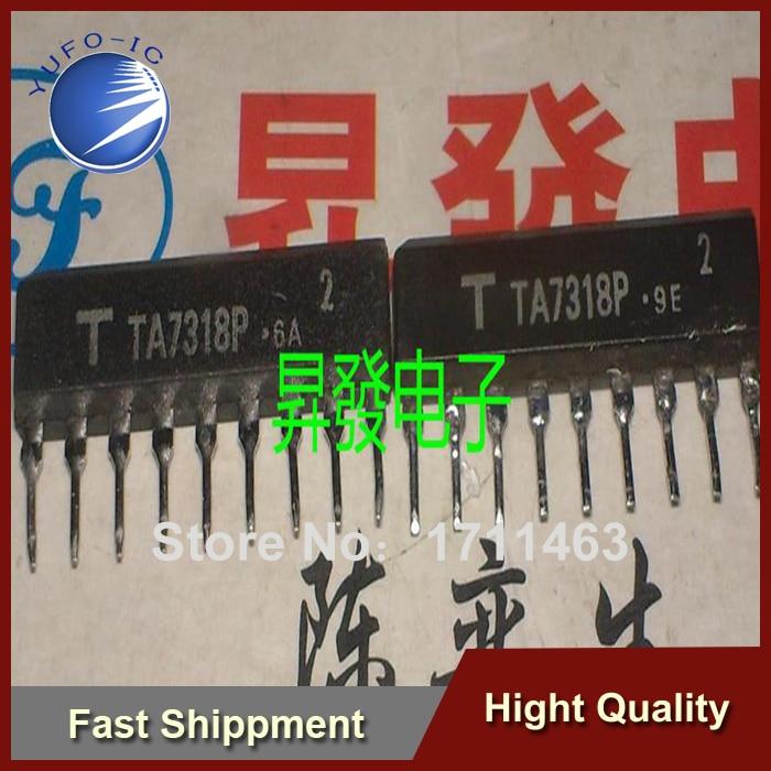 Free Shipping 1PCS twin peak power meter drive circuit TA7318P Tuen original test well YF0913