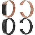 Aço inoxidável Fecho Magnético Ajustável Substituição Watch Band Strap Banda Fitbit Carga Banda Reloj Relogio 2