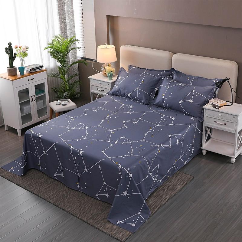 100 cotton flat sheet single double bed sheets twin queen