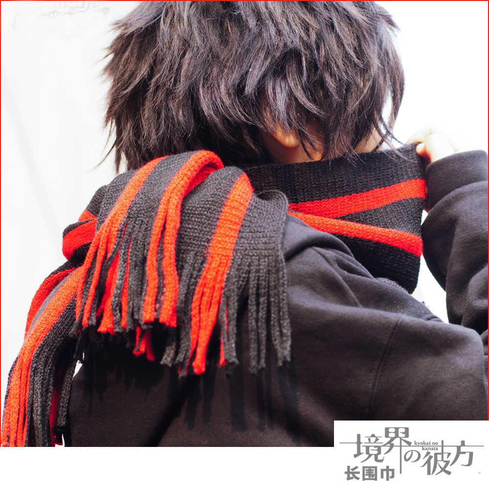 Anime Kyokai no Kanata Nase Hiroomi cosplay Più di Lunghezza Maglia Cosplay Sciarpa Fazzoletto Da Collo di Inverno nel trasporto libero di 2016