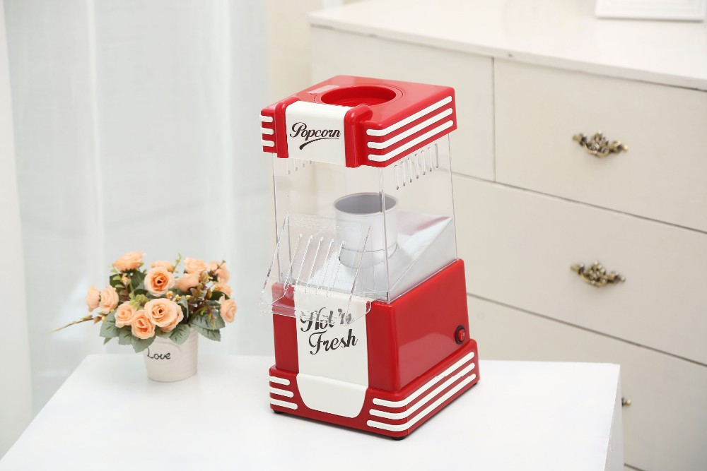 50s Style Hot Air Popcorn Popper Maker Kitchen Appl