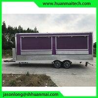 Еда грузовик концессионный Трейлер мобильный Кухня прицеп для кейтеринга