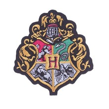 Prajna Harry Potter Stickers Cheap Embroidered Patches Iron On Stickers For Clothing Decor Cartoon Sewing Fabric Appliques New