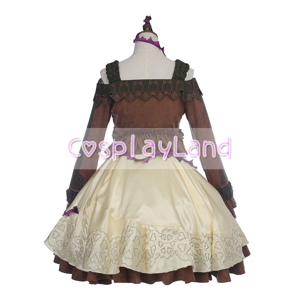 Game SINoALICE Sleeping Beauty Briar Rose Gothic Lolita Dress Cosplay Costume Women Halloween Custom Made Dress Costumes
