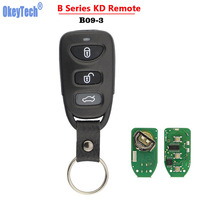 OkeyTech B Series B09 Universal 3 Buttons Control KD Remote Keys For KIA/Hyundai KD900/KD900+/URG200 Remote Car Keys