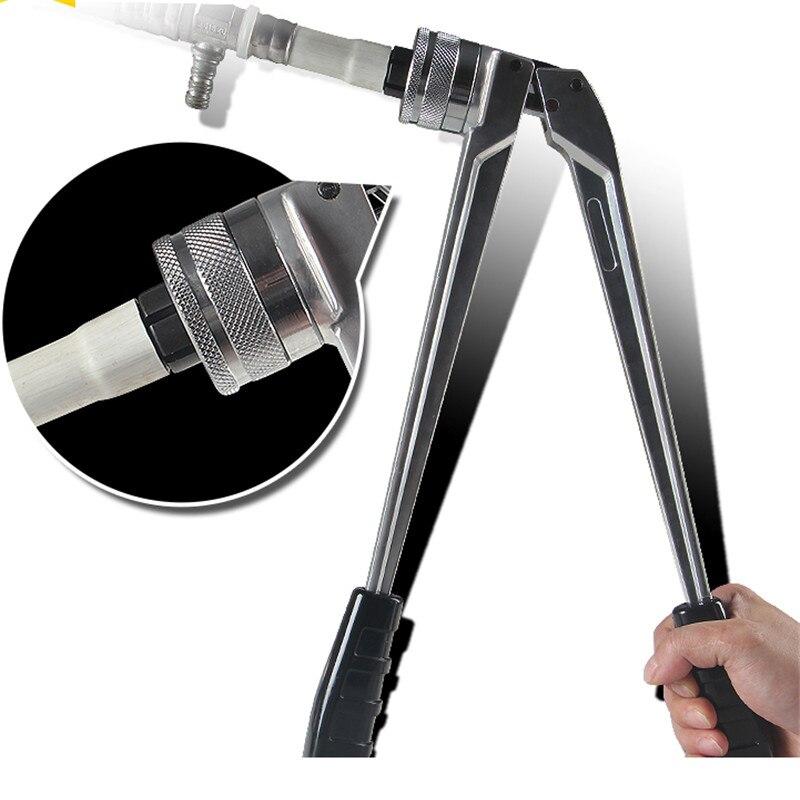 Сантехнические инструменты Pex монтажный инструмент PEX-1632 диапазон 16-32 мм Фитинги вилки с хорошим качеством популярный инструмент сантехника обжимной инструмент