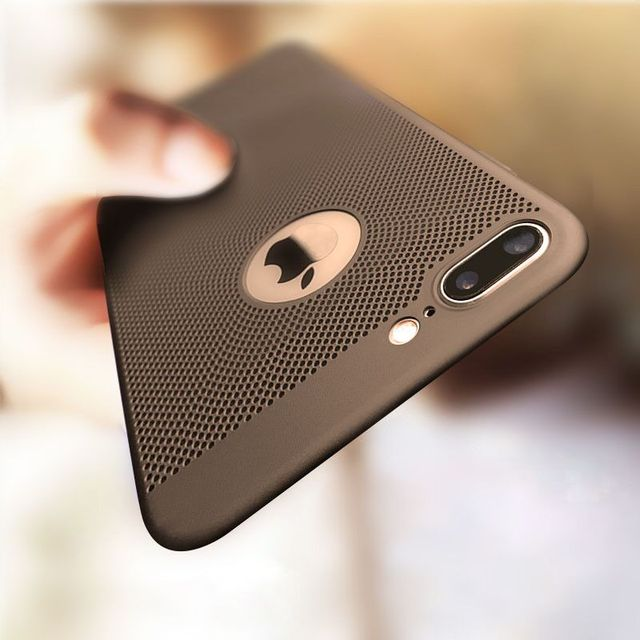 iPhone Matte Protective Hollow Heat Dissipation Hard PC for iPhone