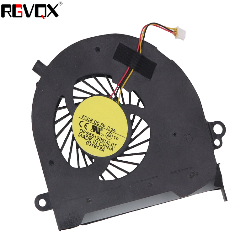 Купить с кэшбэком New Laptop Cooling Fan For Toshiba C70-A C70D-A C75 C75D L75 L75D L75D-A DFS551205ML0T MF60120V1-C640-G99