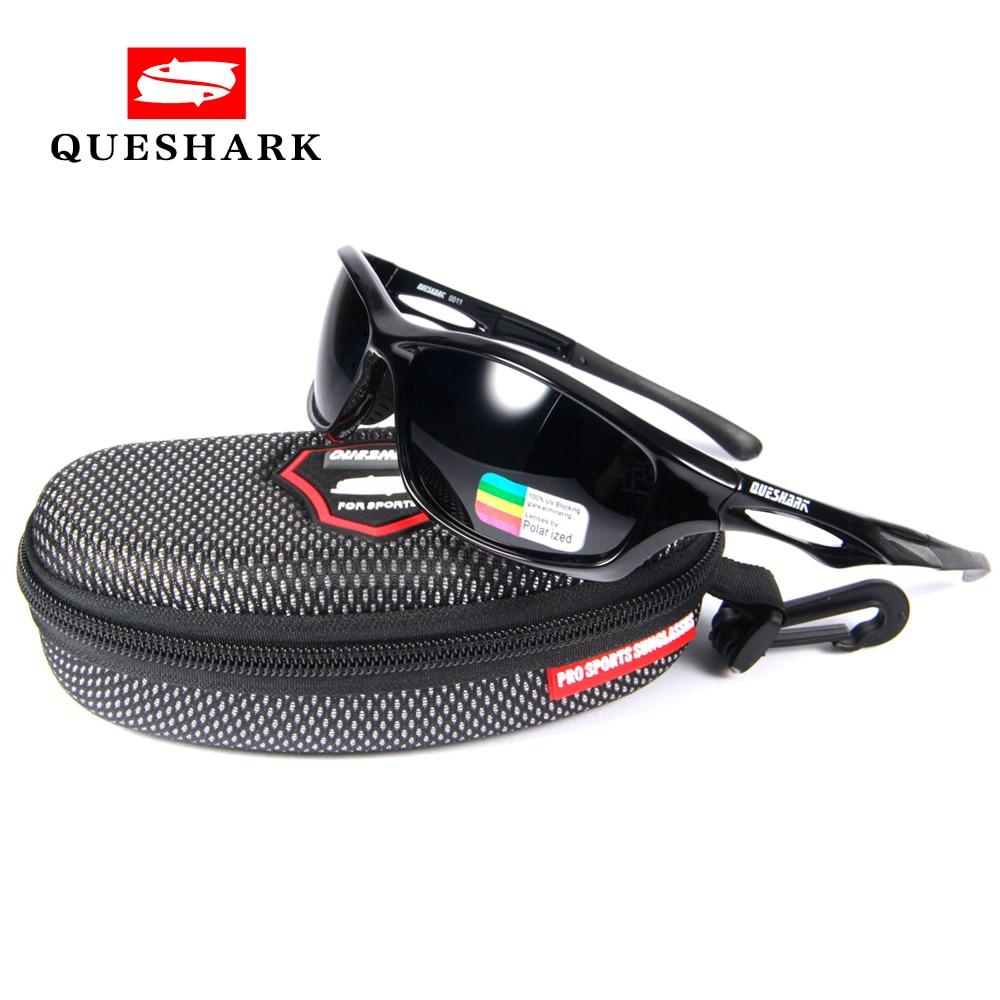 QUESHARK Polarized Sports Sunglasses For Men Women TR 90 Unbreakable Frame For Cycling Baseball Running Fishing юбка elena miro юбка page 2