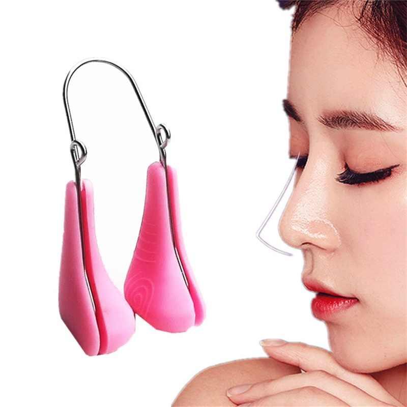 Magiczny nos kształtowanie Shaper Lifting Bridge prostowanie klips upiękniający Lifting twarzy nos Up klip twarzy Clipper korektor Beauty Tool54