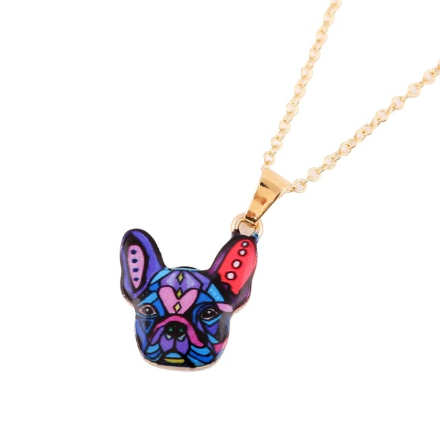 2016 New Fashion necklace  Gold  Dog Necklace Women 2016 love my dog necklace jewelry female