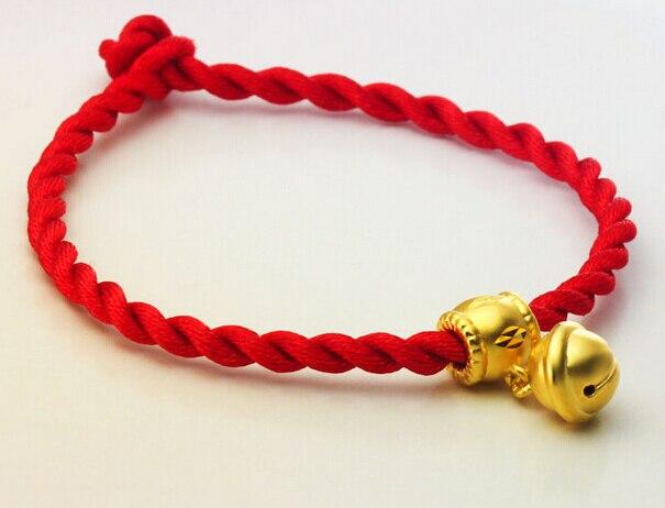 Offre spéciale nouveau pur 999 24 k or jaune 3D bébé Belling pendentif chaîne 1.5g
