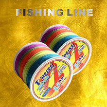 Topline Tackle Fishing Line Braided 0.1mm 0.5mm Diameter Multifilament Rope 100M 300M