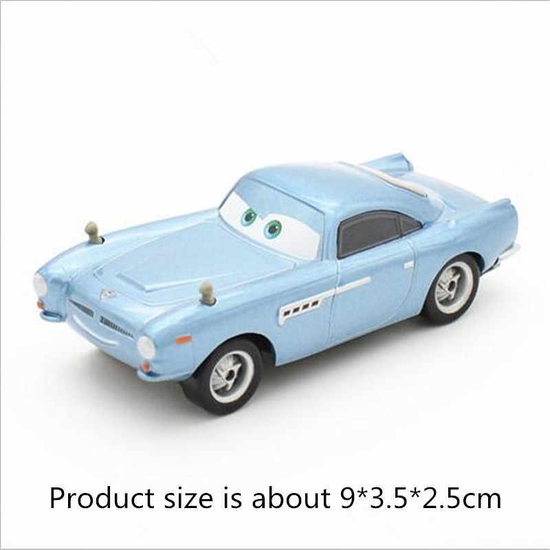 Nova disney pixar carros mobilização geral de veículos por atacado mcqueen rei de carros tempestade ramirez 1:55 liga de metal modelo brinquedos