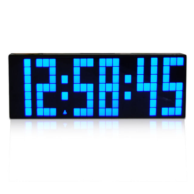 CH KOSDA LED Countdown Timer Alarm Clock Digital Large Big LED Jumbo Desk  Table Room Kitchen