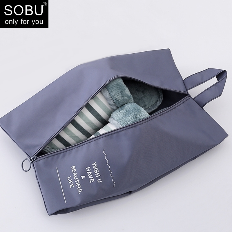 Travel Accessories Waterproof Shoe Bag Multi-function Travel Case Zipper Toiletry Shoe Bags Storage For Travel N114