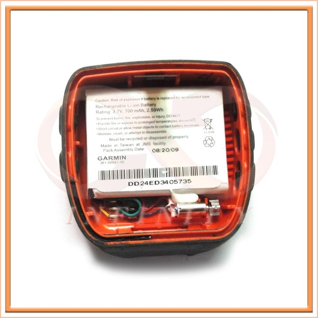 100% Teste de Bateria Li-Ion Original Para Garmin Forerunner 310XT 361-00041-00 CS-GRF310SL Usado Relógio GPS