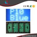 P10 открытый один синий светодиодный дисплей модуль p10 DIP 32 х 16 пикселей 320 х 160 мм светодиодная панель доска