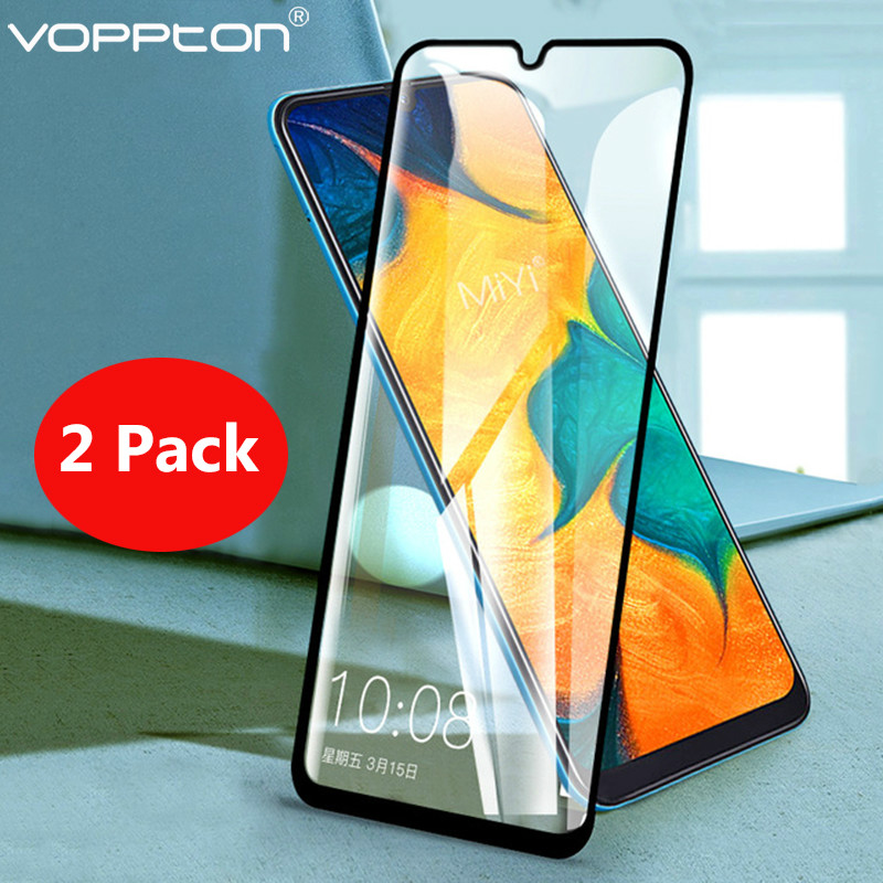 2 PCS Screen Protector For Samsung Galaxy A30 A50 Anti-Scratch 2.5D Explosion Proof Tempered Glass Film For Samsung A70 A40 A60