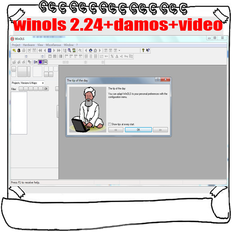 Image 2 - Winols 2.24 + Unlock patch + Damos files + Video + User Manual + Ecm titanium 26000 Drivers Download Link-in Software from Automobiles & Motorcycles