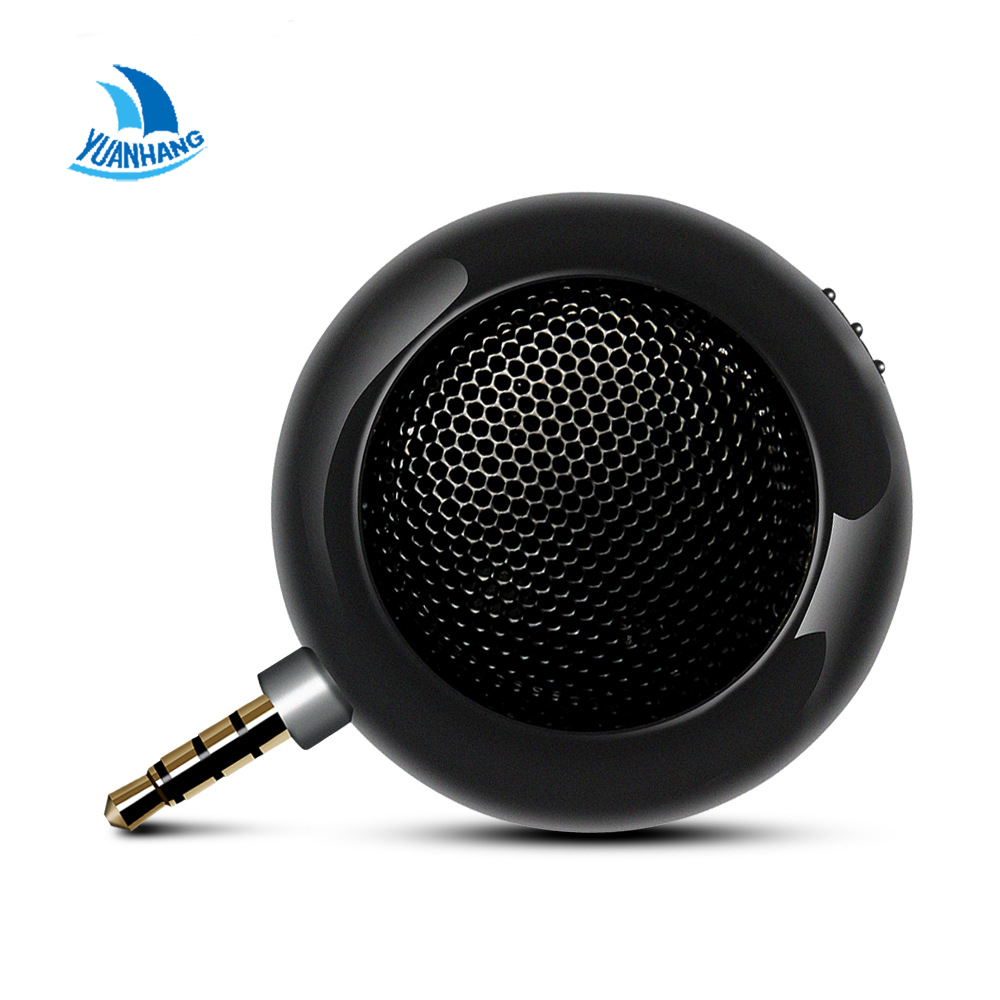 2017 Hot Selling Leadsound Portable Mini HIFI 3D Surround Speaker 3.5mm Jack Mini Speaker for Smart Phone Tablet PAD Upright t 3d mini phone