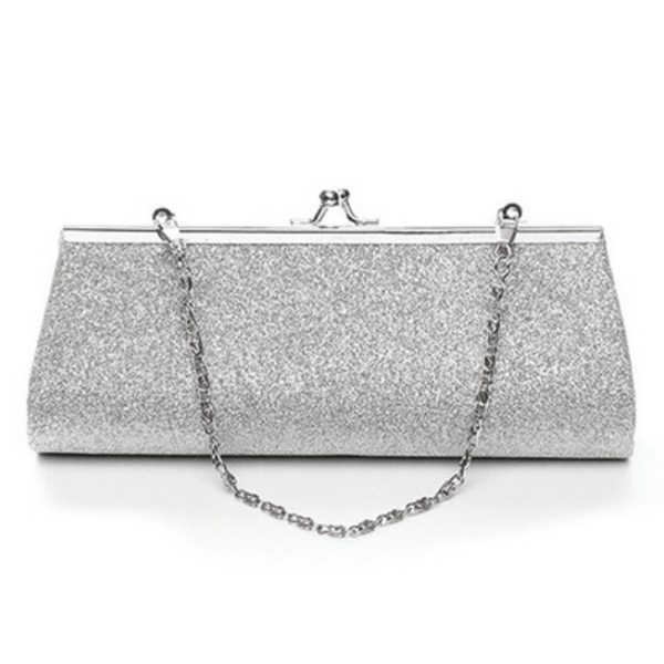 Wcs-bolsa feminina glitter clutch noite festa de casamento banquete bolsa de ombro