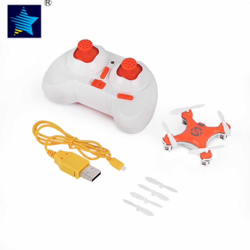 Mini RC Drone helicóptero Radio avión modo sin cabeza Drone Quadcopter Mini para Cheerson CX-10 6 ejes juguete de Control remoto para chico