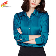Women Tops New Blouses 2017 Spring Fashion Office Shirts Ladies Elegant Women Clothing Long Sleeve Blusas feminina 3 Colors
