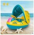Portable Barco inflable natación para bebés piscina piscina infantil bebés de los niños al aire libre juguetes de plástico flotador piscina hinchable