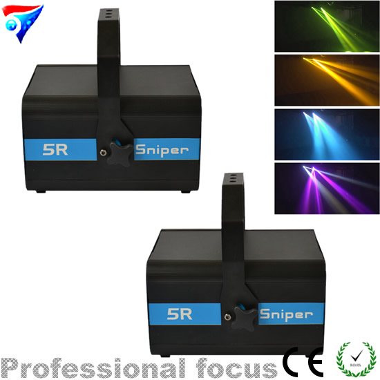 2pcs/lot Studio Light Elation Sniper 5R 200W Beam Spot Laser Stage disco night club Ligh ...