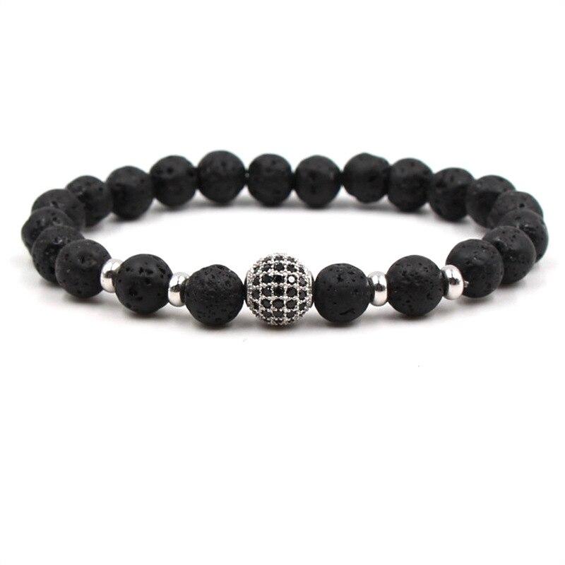 Купить 2018 модный роскошный мужской браслет с шармами cz кубический