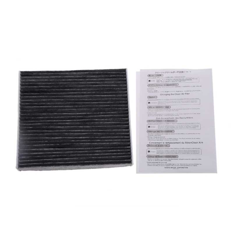1Pc Carbon Fiber Cabin Air Filter 87139-50060 ADT32514 For Toyota Camry RAV4 Yaris