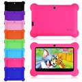 "Yuntab 7 ""dual camera q88 pad allwinner a33 quad core 1.5 ghz tablet pc 8 gb dual camera wifi adicionar capa de silicone"